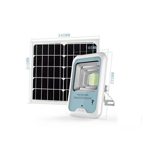 16W Solar Powered LED Motion Activated Flood Light