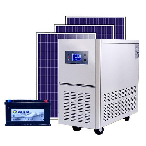 Battery Backup for Home Solar System
