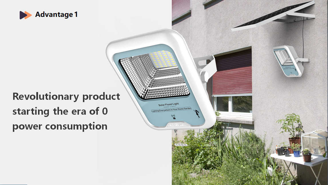Solar Spot Lights Motion Sensor