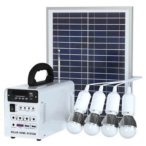 20W Solar Panel Home System